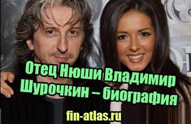 фото Отец Нюши Владимир Шурочкин – биография