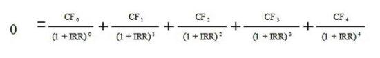 Расчет доходности формула