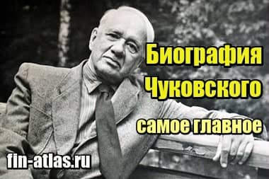 Изображение Биография Чуковского – краткое содержание, самое главное